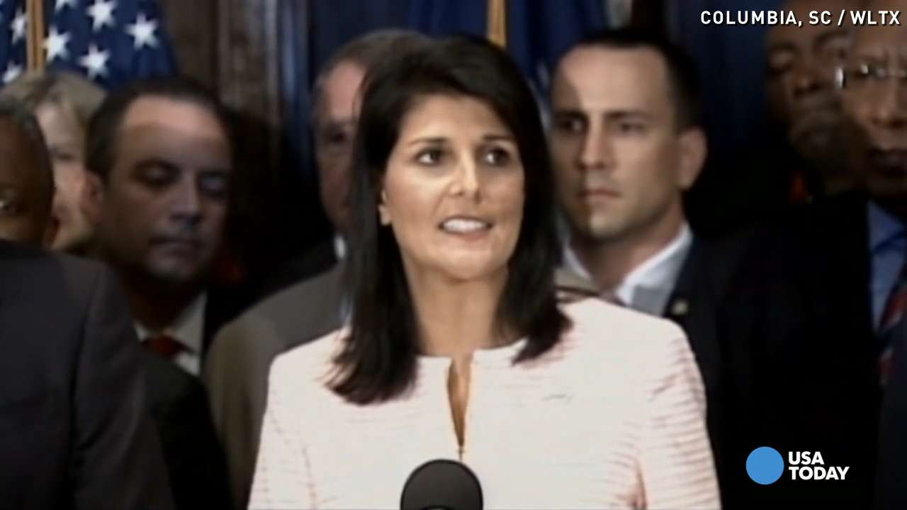SC Gov. Haley on Confederate flag: 'It's time to move' it