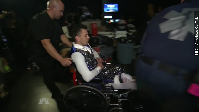 'AGT' hopeful suffers scary injury during audition