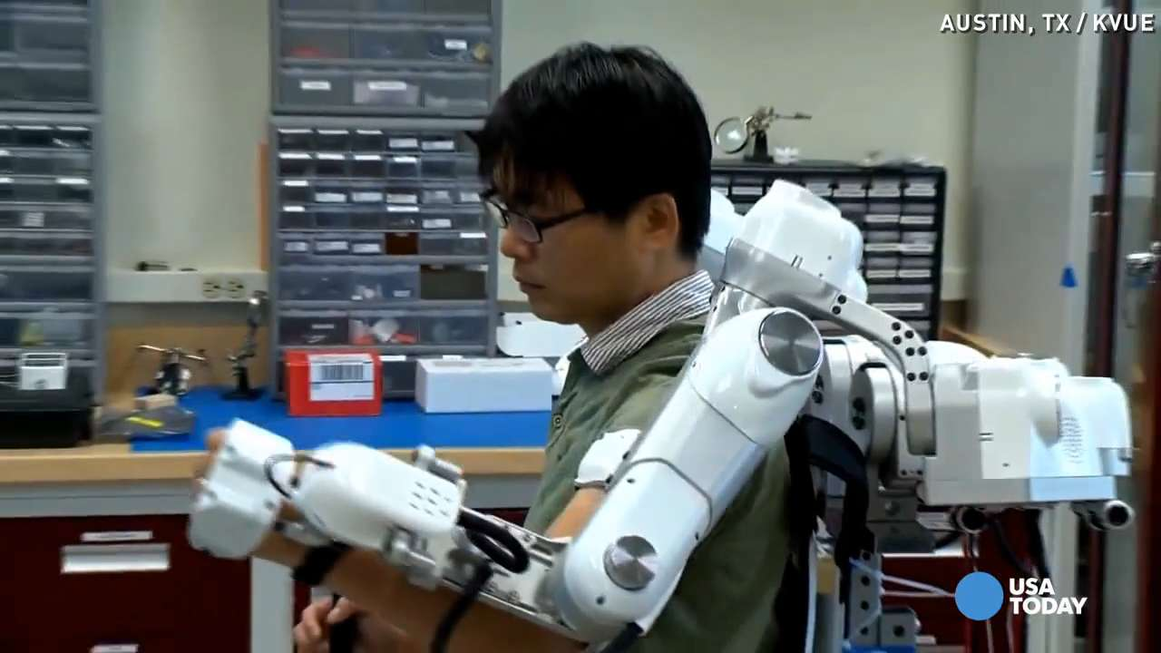 Robot could help stroke patients move around again
