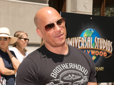 Stars unveil 'Fast and Furious' ride