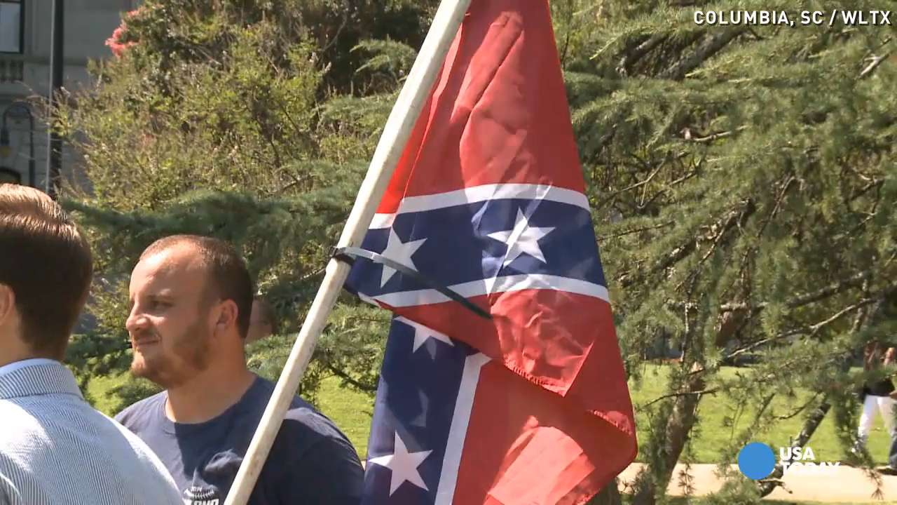 Confederate flag, Old Glory have much in common
