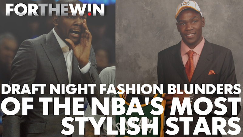 Draft night fashion blunders of  NBA's  stylish stars