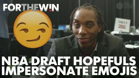 NBA Draft hopefuls impersonate emojis