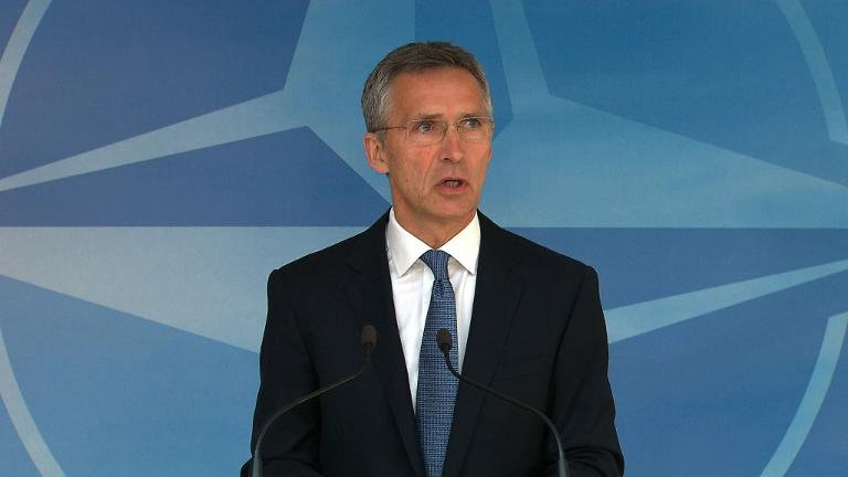 NATO won't be 'dragged into arms race' with Russia