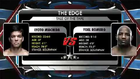 The Edge Machida vs Romero