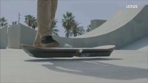 Hoverboard in teaser ad: is it legit?