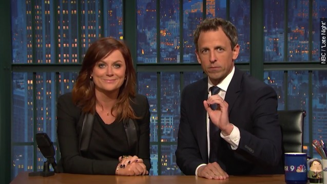 'Late Night': Seth, Amy revive 'Really?!?'