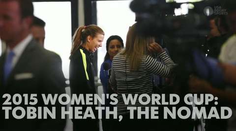 Women's World Cup: Meet Tobin Heath, the USA's nomad