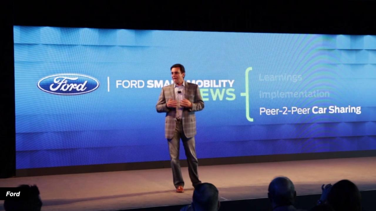 Ford leaps head first into crowded car-sharing biz