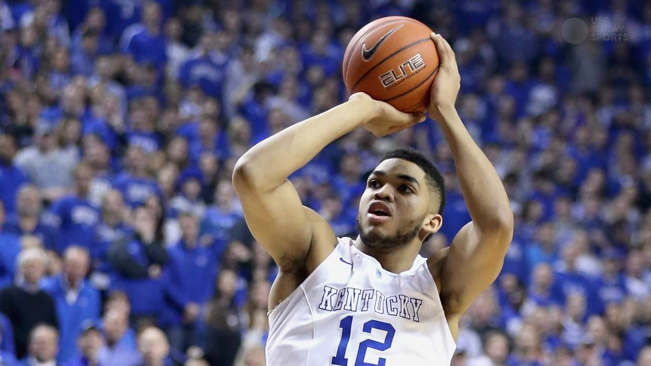 Karl-Anthony Towns drafted No. 1 overall by Timberwolves