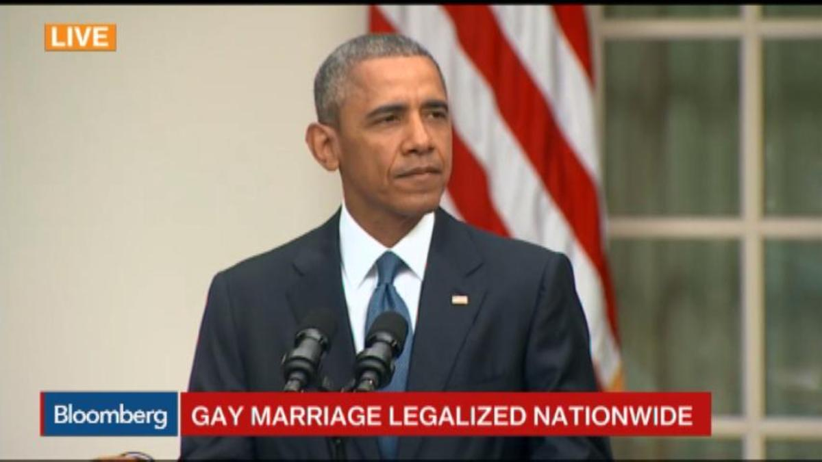 Obama: Marriage equality strengthens communities