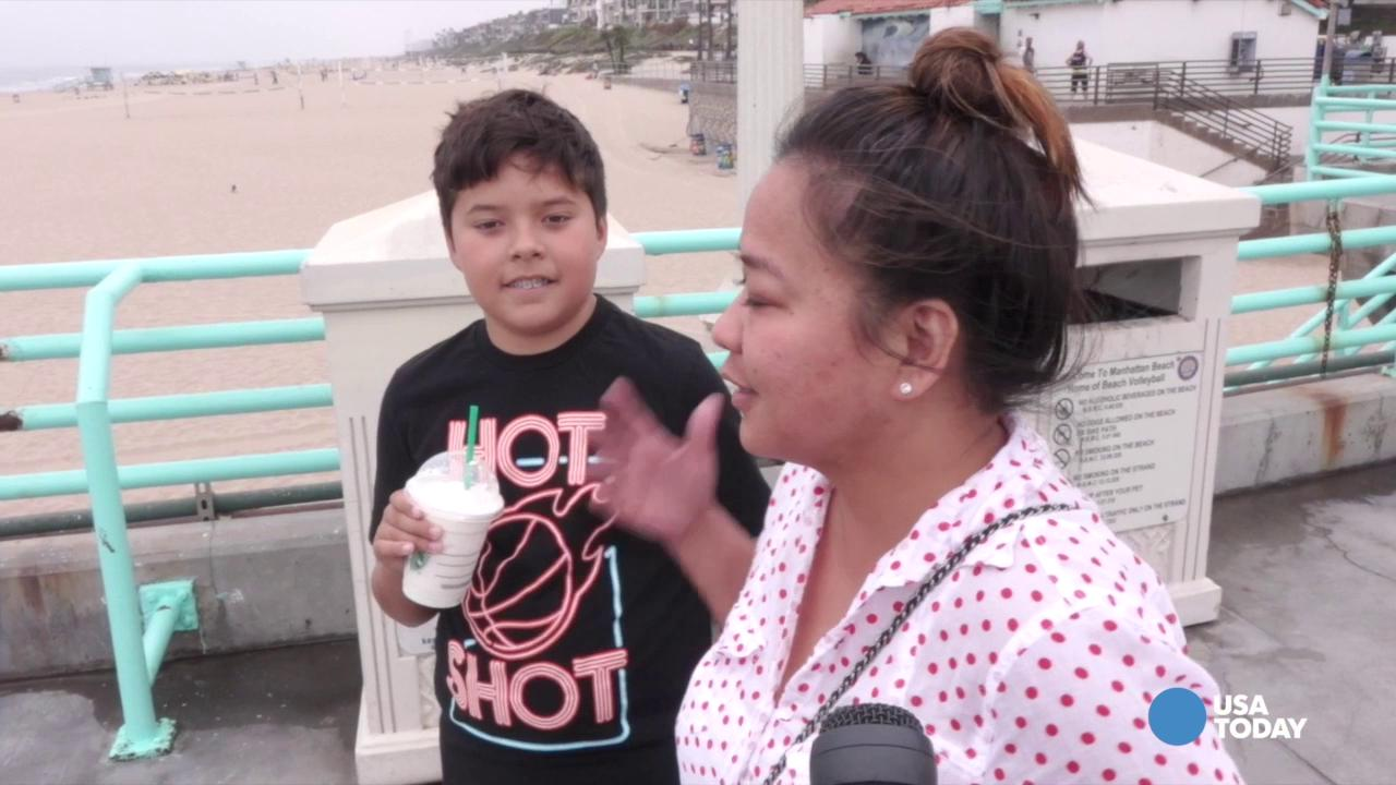 Beachgoers react to court ruling on gay marriage