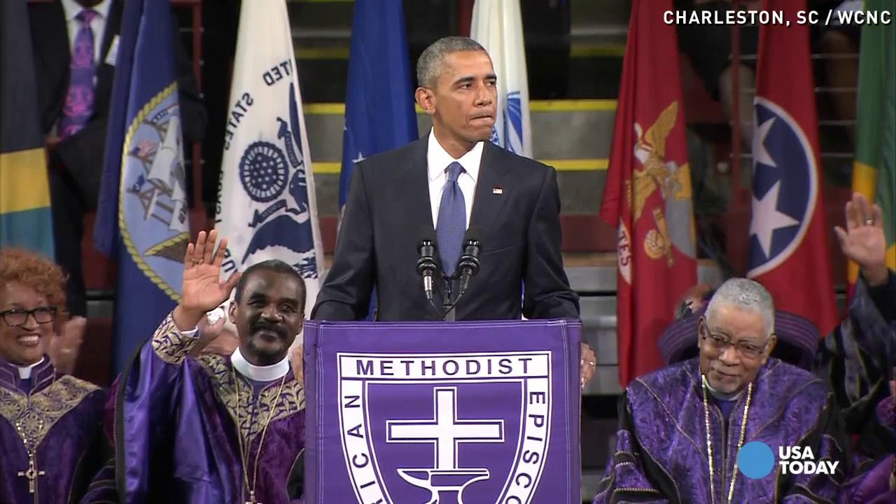 Obama on Charleston: 'God works in mysterious ways'