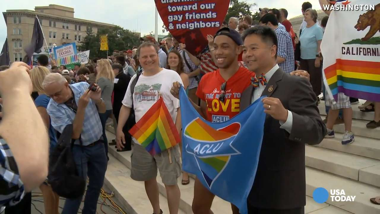 The nation responds to same-sex marriage legalization
