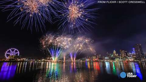 How to shoot fireworks photos with smartphones