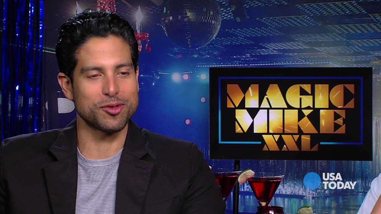 'Magic Mike' stars play 'Would you rather'
