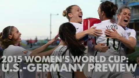 Women's World Cup preview: U.S. vs. Germany in semifinals