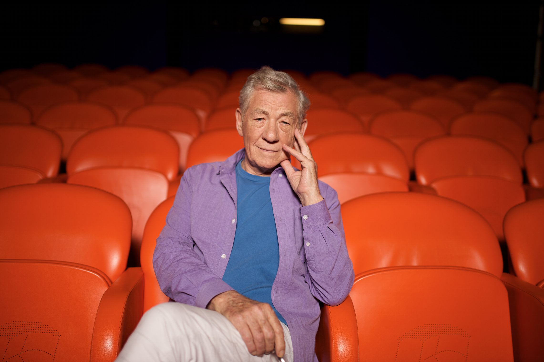 "McKellen on Pride Parade: ""Bearing witness, and celebrating."""
