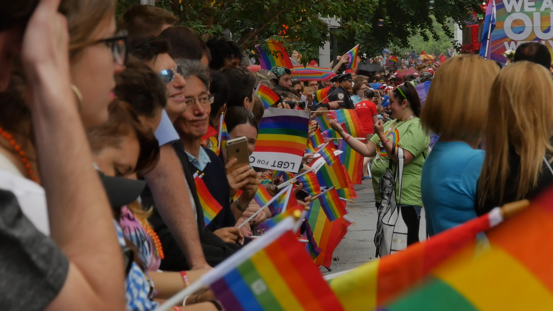 New York City celebrates marriage equality, gay pride