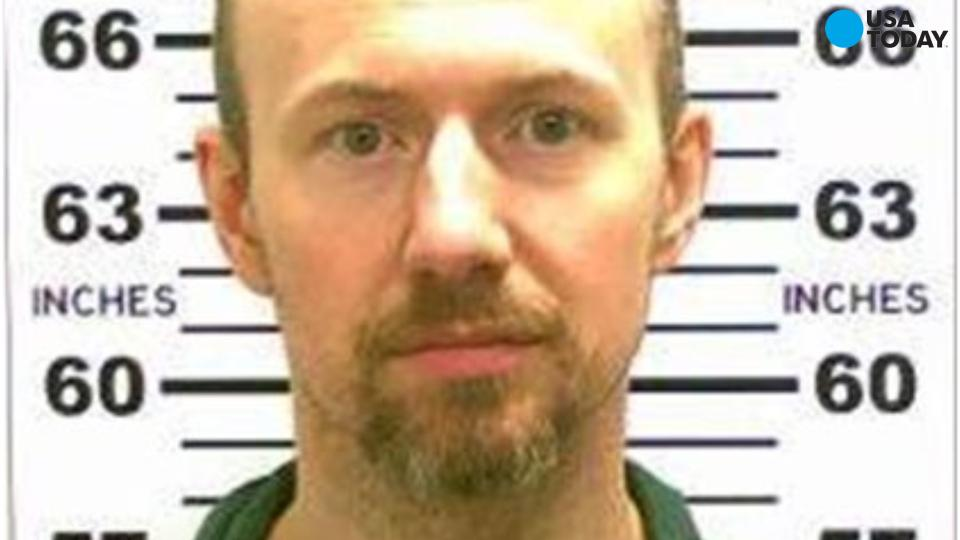 Escaped inmate David Sweat caught near Canadian border