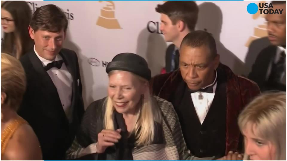 Joni Mitchell is 'speaking well' and 'full recovery' is expected