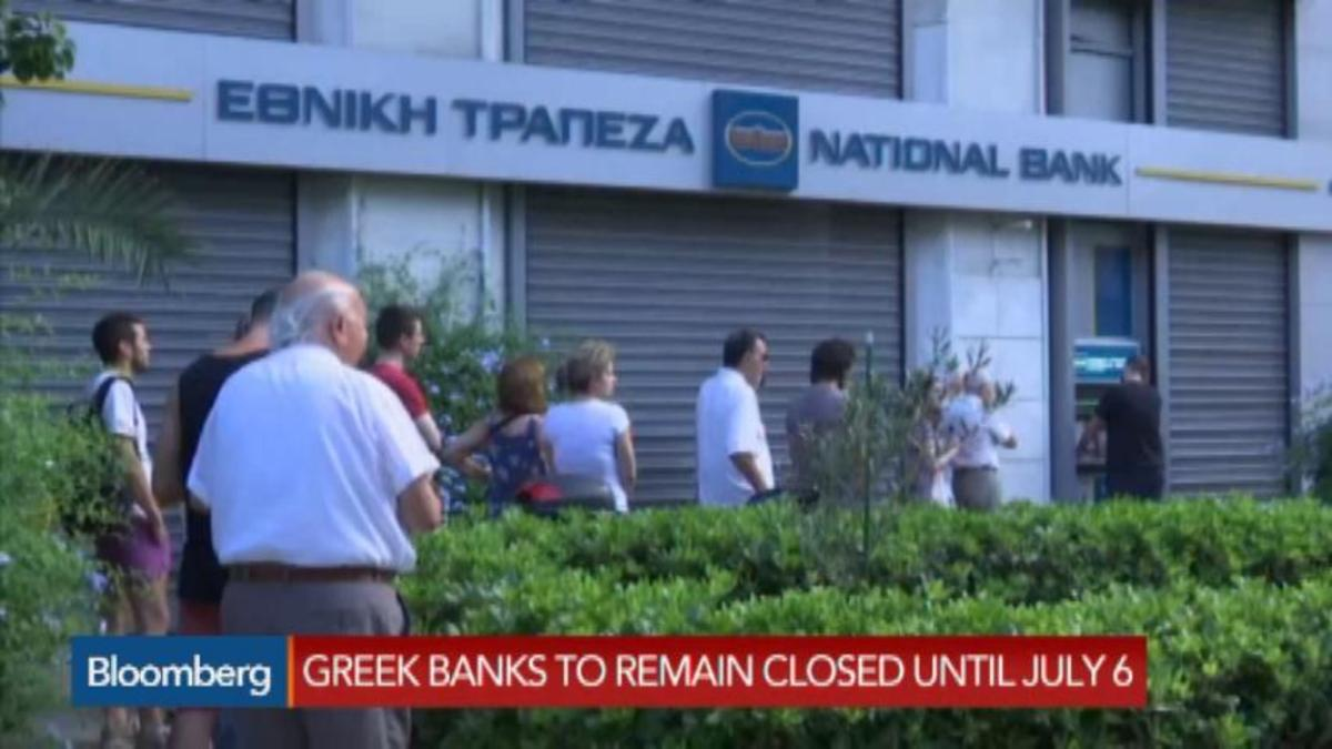 GreeceiIssues capital controls, shuts banks