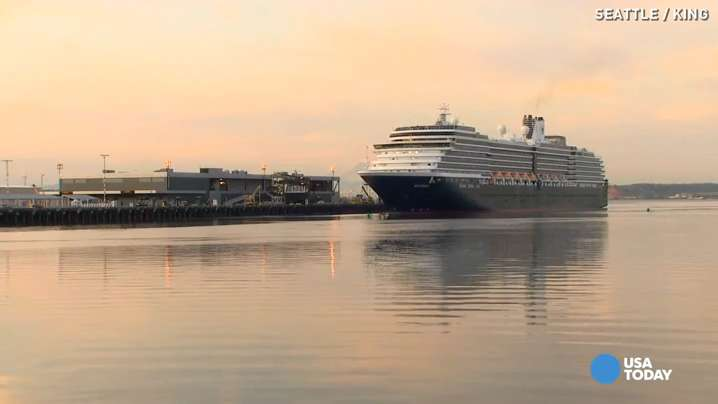 Passengers of the Holland America cruise ship Westerdam disembarked in Seattle after an emotional trip. A small plane carrying 8 passengers from the ship crashed while it was in Alaska. The tragic accident took a toll on everyone on board.