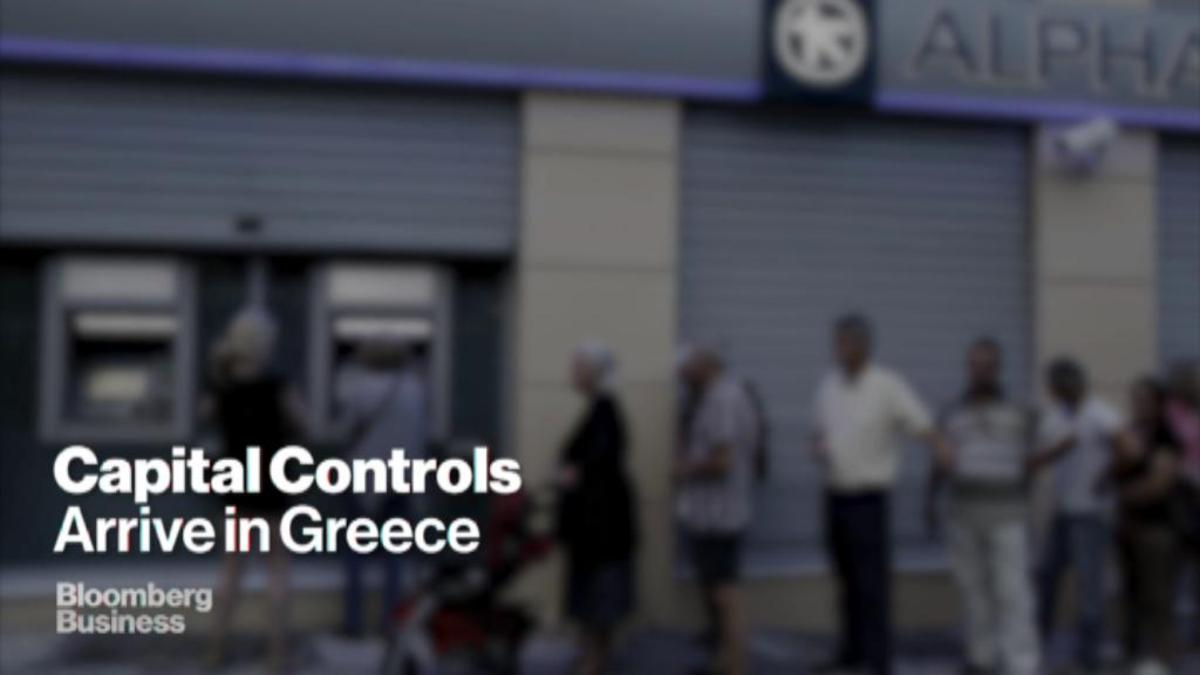 Greek crisis hits wallets