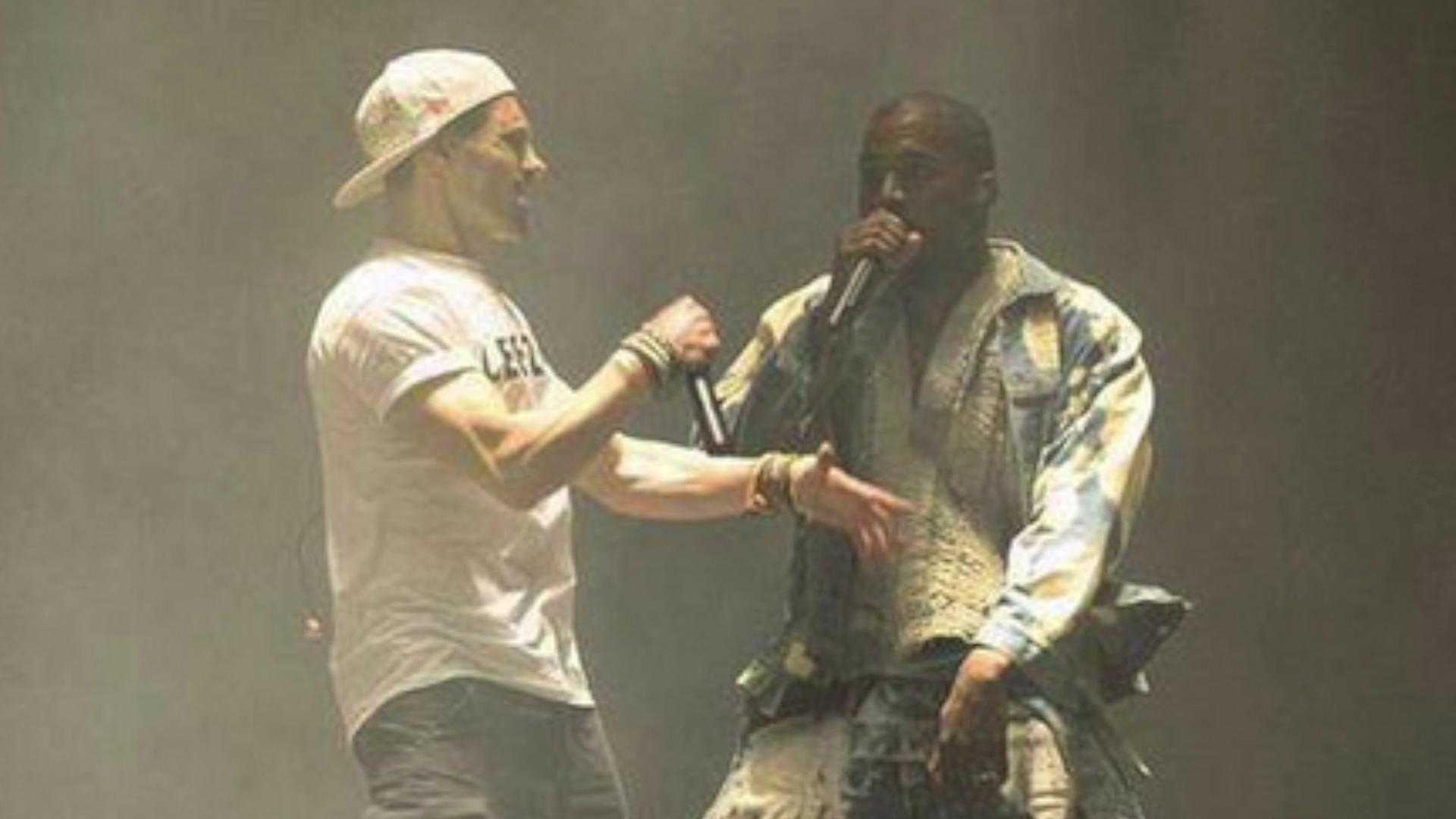 "Kanye West's Glastonbury performance crashed by ""Lee-zus"""