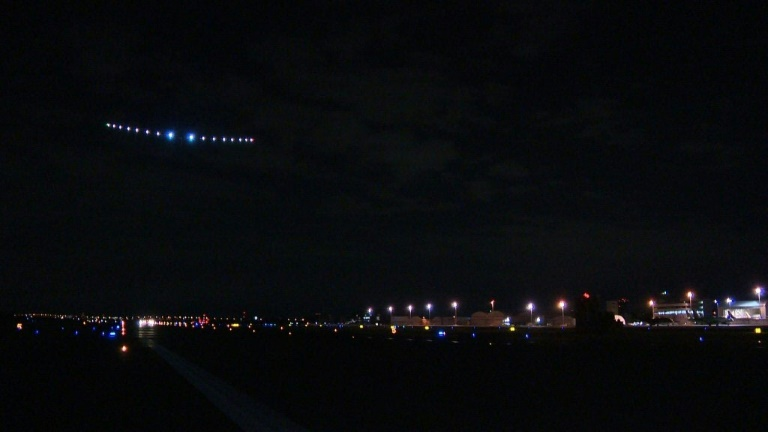Solar impulse leaves Japan on delayed Pacific flight