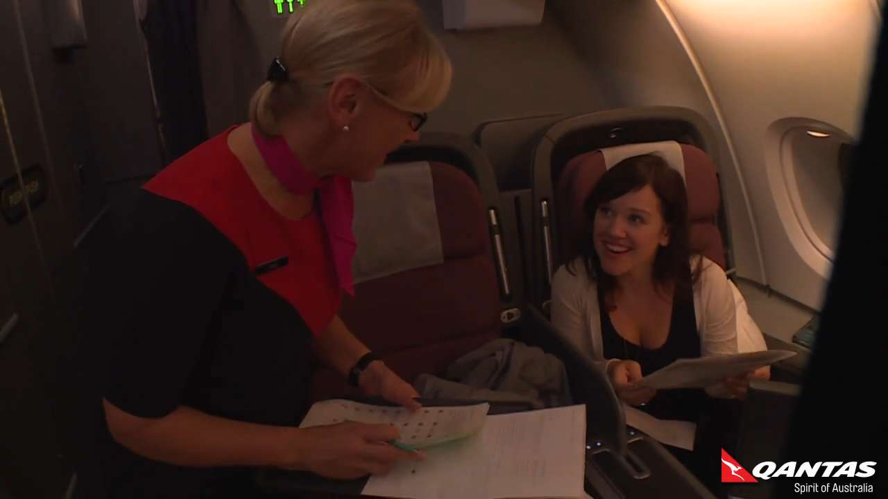 Enjoy the long-haul journey with Qantas