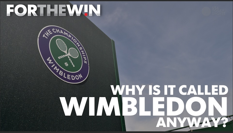 Why is it called Wimbledon, anyway?
