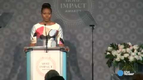Michelle Obama on global education disparities for girls