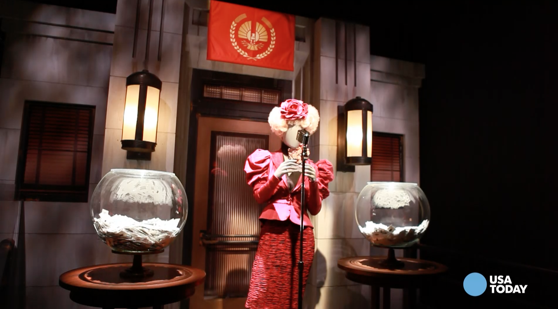 Tour the new Hunger Games Exhibition in Times Square