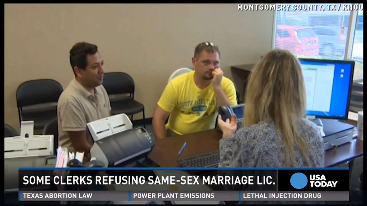 Same-sex couples face new challenge in Texas