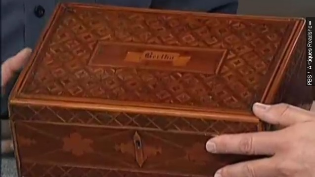 Box made by John Wilkes Booth co-conspirator gets big price