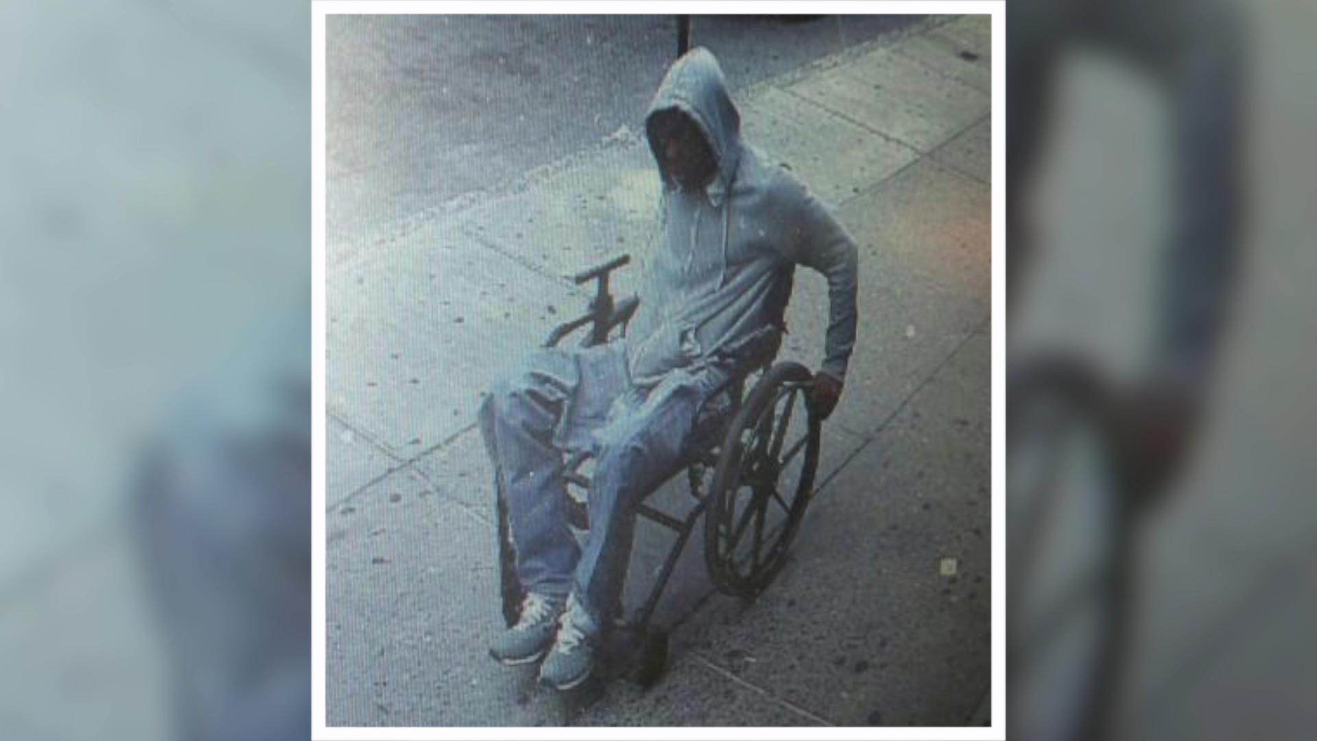 Man in wheelchair robs bank, gets away with it