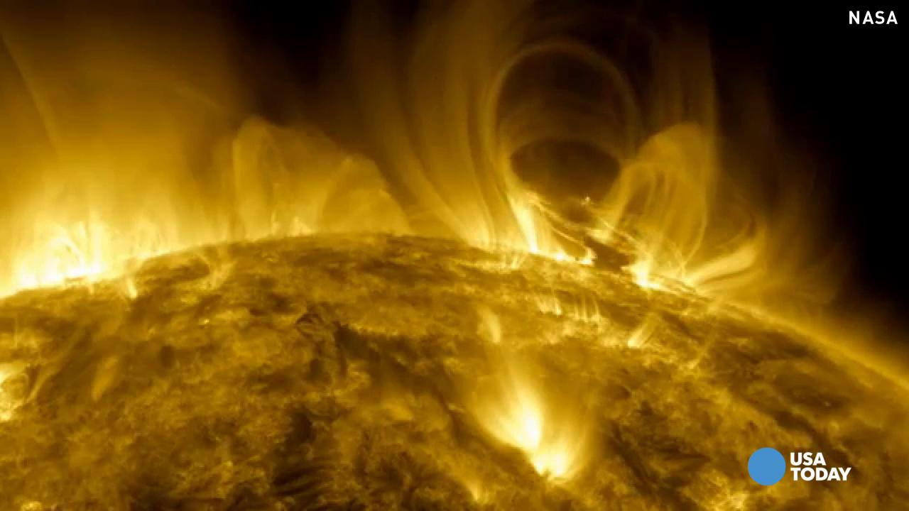 Watch: NASA captures massive eruption on the sun