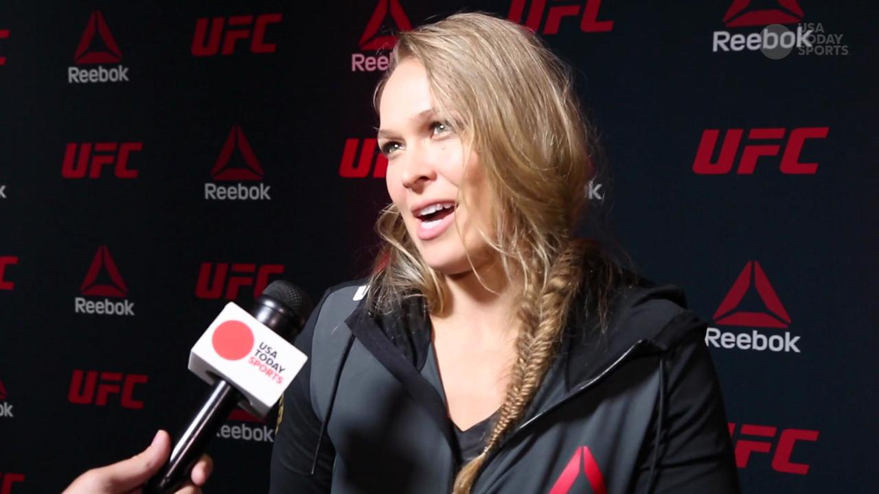 Rousey on involvement with new Reebok kits