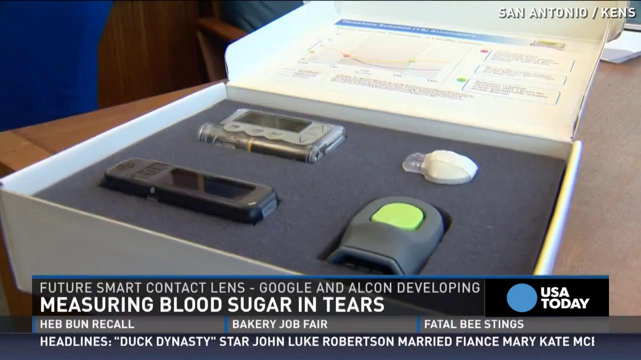 New contacts let you measure blood sugar through tears
