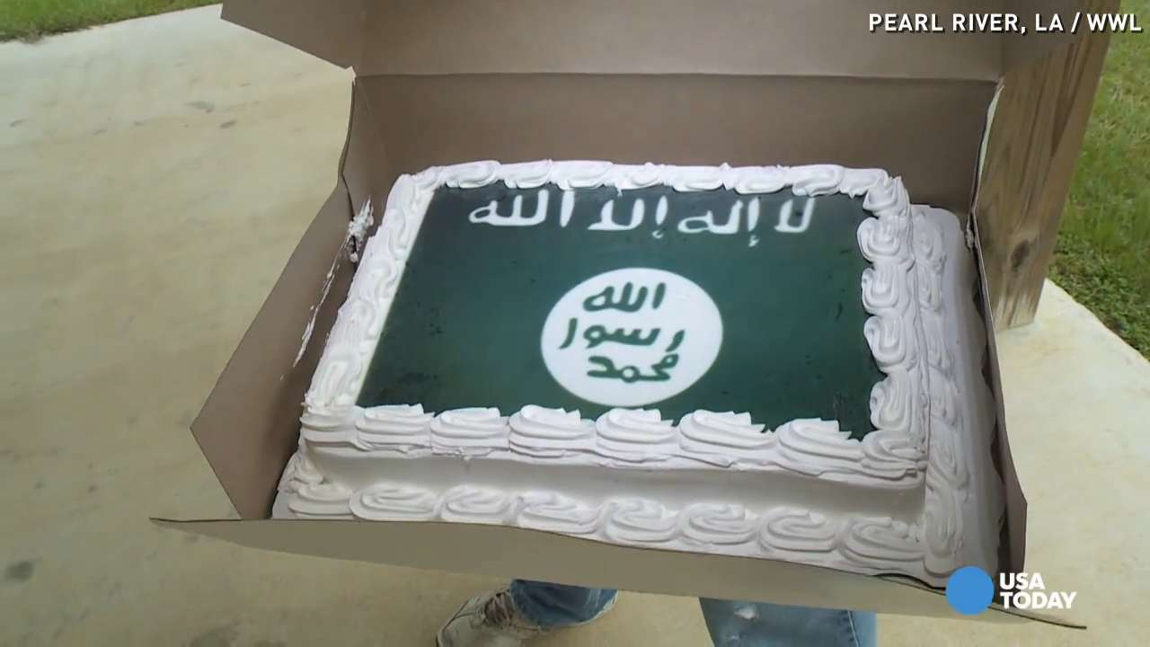 Walmart sorry for ISIL cake after denying rebel design