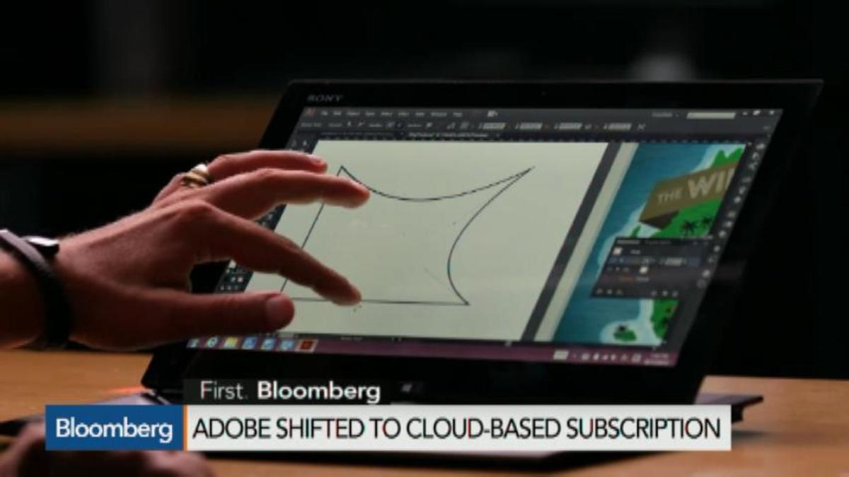 Adobe's transformation: The move to go digital