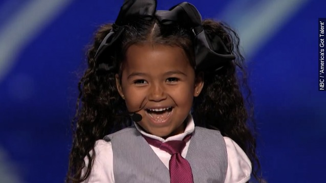 Adorable 5-Year-Old singer takes 'AGT' by storm