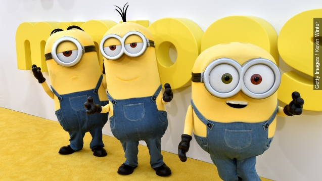 Jon Hamm on why adults like minions: 'They look like pills'