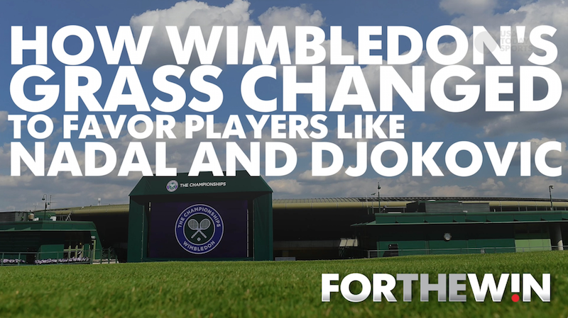 How Wimbledon's grass started favoring Nadal and Djokovic