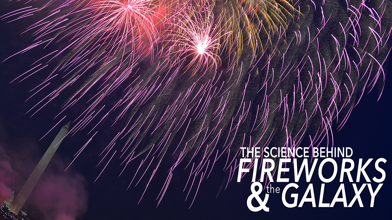 The Science Behind Fireworks and the Galaxy
