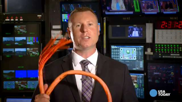 What does an Internet fiber-optic backbone cable look like anyway?