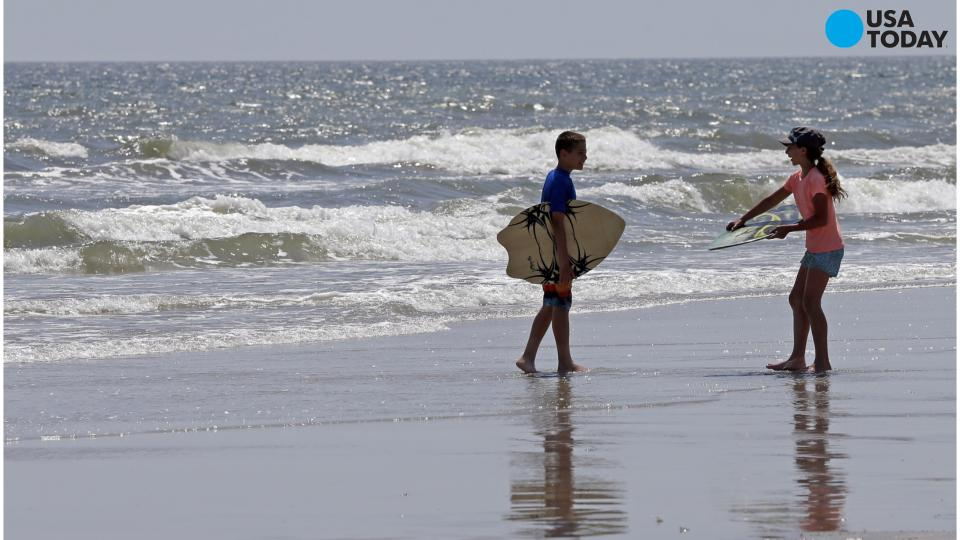 Man bitten by shark on NC Outer Banks is seventh this summer