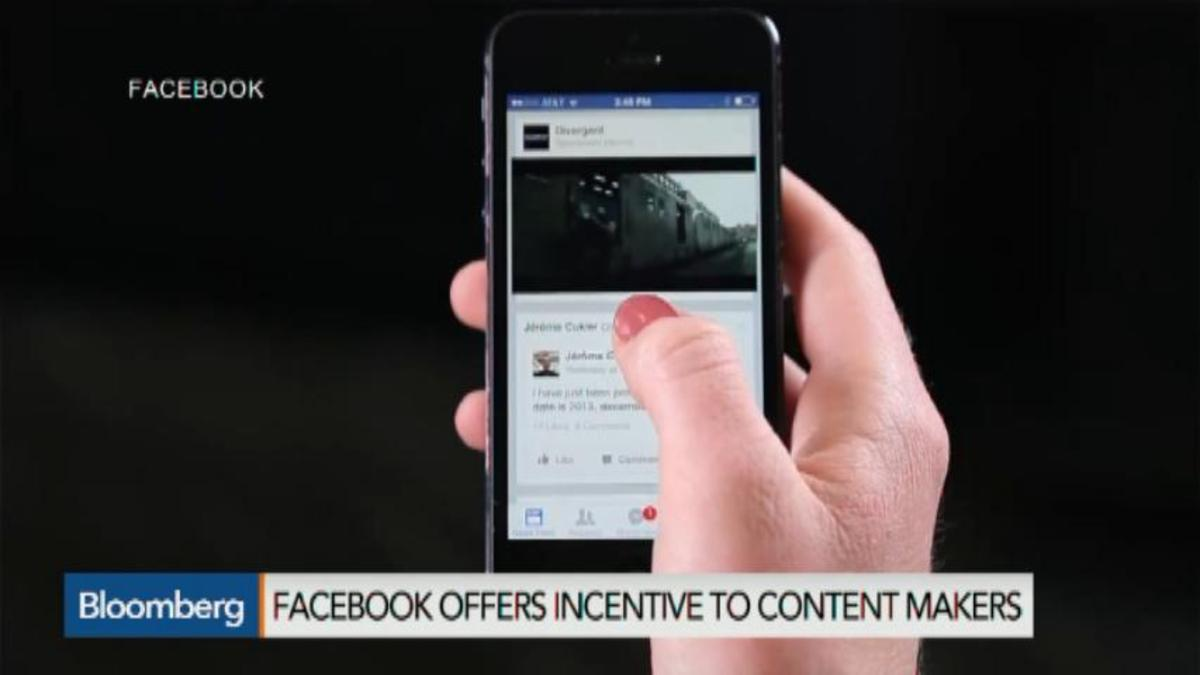 Why Facebook wants to share video-related ad revenue