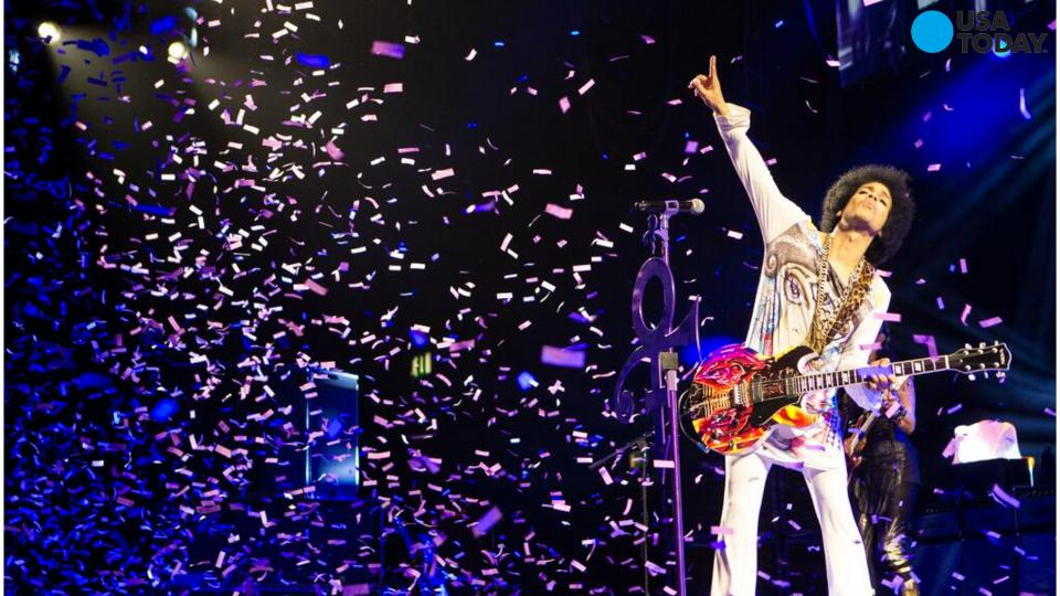 Prince's music removed from all streaming services except Tidal